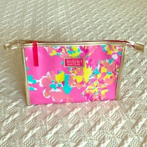 Lilly Pulitzer Estēe Lauder cosmetic bag 10x3x7